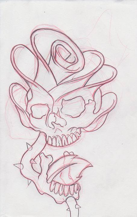 Original Sketch - Kane Broadus