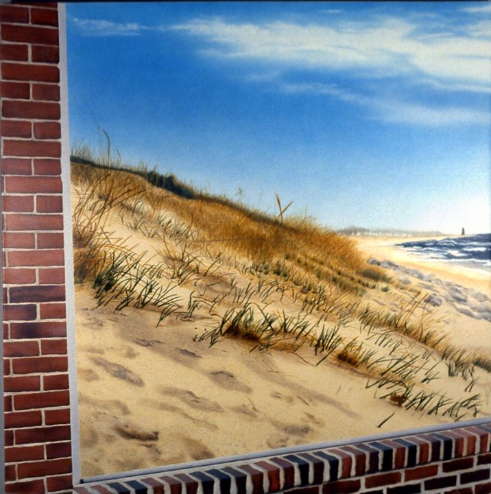 Dune View #1 Forbidden territory - Thomas Kawall Creative Finishes