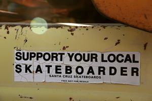 Support Your Local Skateboarder