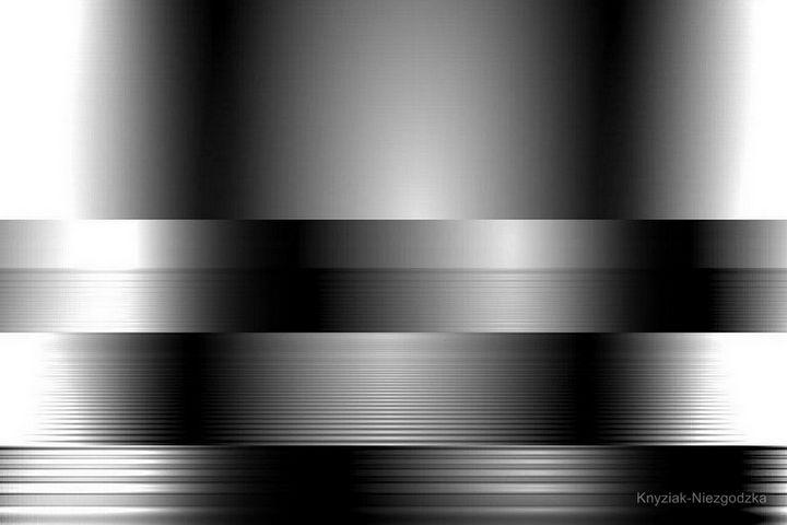 Silver spatial composition - Paulina Knyziak-Niezgodzka