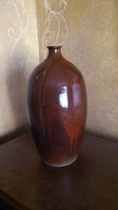Pottery Vase, Hand Thrown, Stoneware