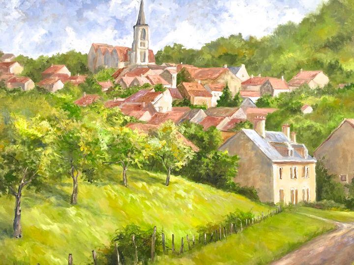 Burgundy Village - CP Logan Originals