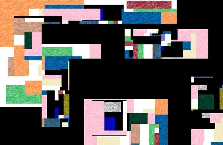abstracted black -  Nadeemspace