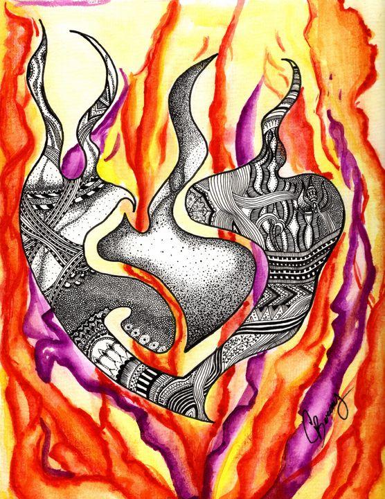 Fiery Heart - C.berenis