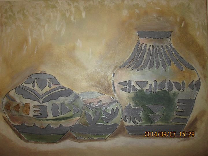 Native American Traditional Pottery - Erum's Collection