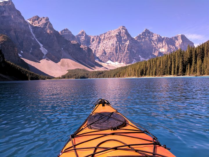 Kayaking The Lake - Terry Restivo