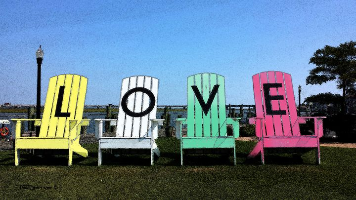 Love Those Chairs - Terry Restivo