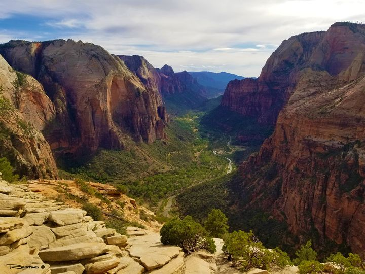 Angels Landing - Terry Restivo