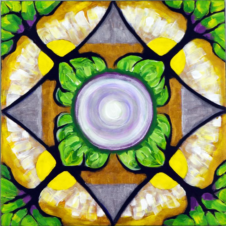 Sunny Day Mandala - Carolee