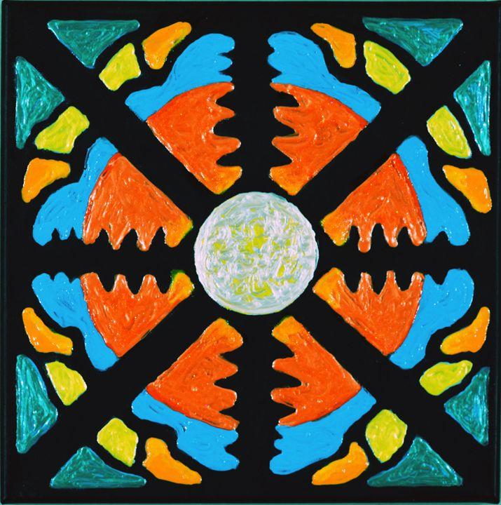 Sunset Moon Mandala - Carolee