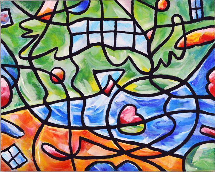 Swimming in Windows - Carolee
