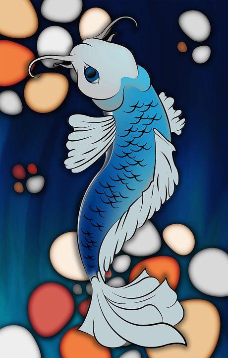 Koi Fish - Chenoa Roberts