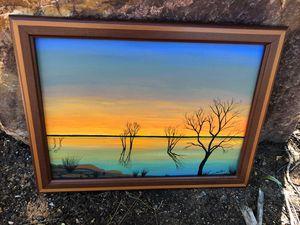 Sunset on Lake Argyle Kimberley