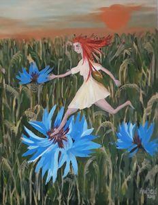Believeing in a flight - Andzejs paintings