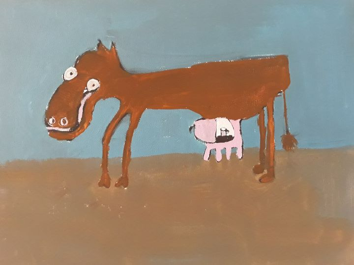 Cow - Andzejs paintings
