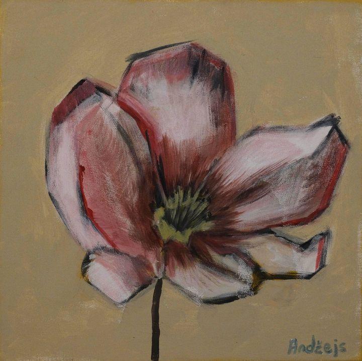 Spring flower - Andzejs paintings