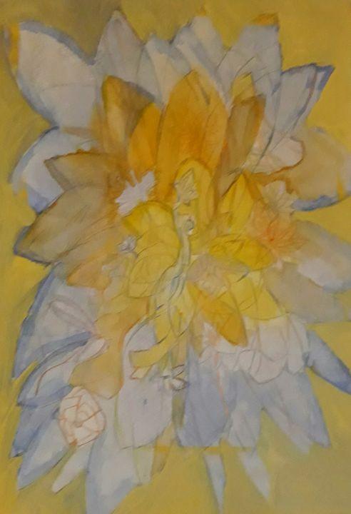 Flower fairy - Andzejs paintings
