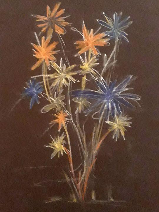 Flowers - Andzejs paintings
