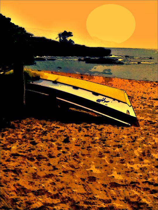 Golden Sunset - Mike Crinella - Hawaii Artist