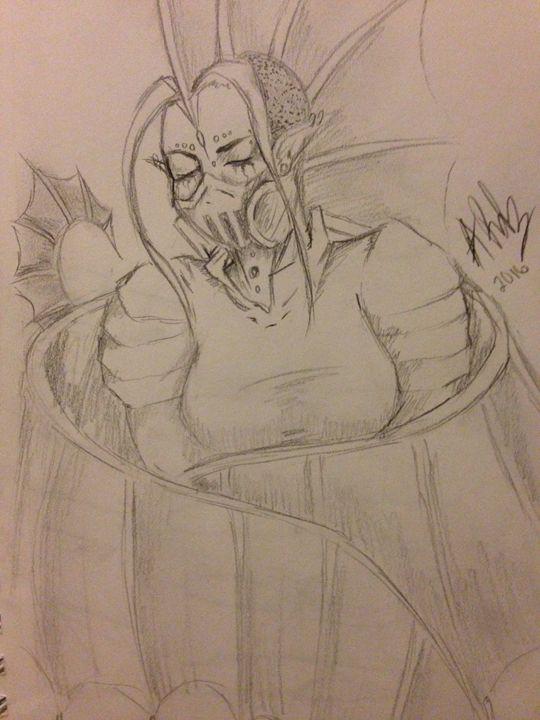 Dragon Woman - Esme Rodriguez