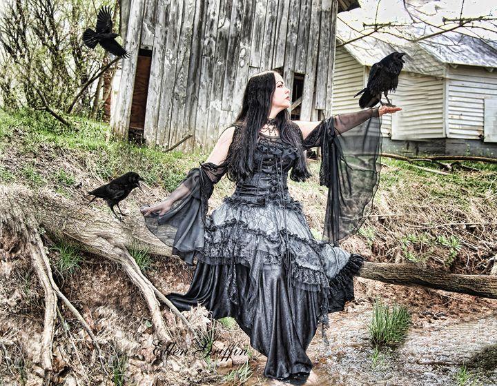 Crows - Ellen Griffin Fantasy Art