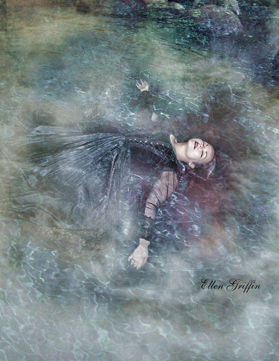 Dark Waters - Ellen Griffin Fantasy Art