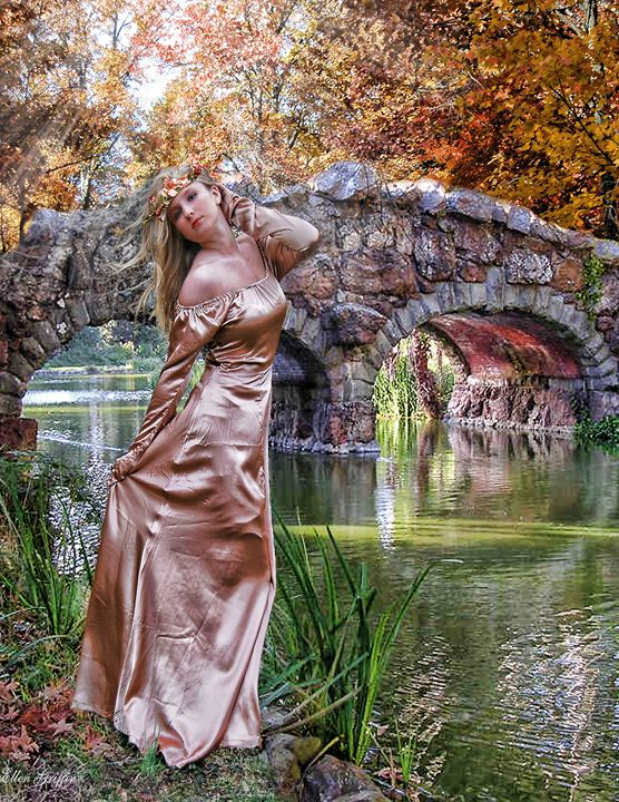 The Maiden - Ellen Griffin Fantasy Art