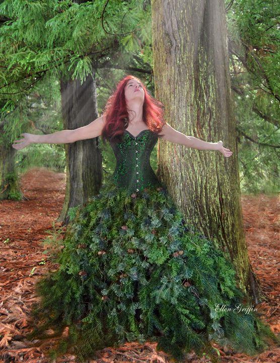 Mother Nature - Ellen Griffin Fantasy Art