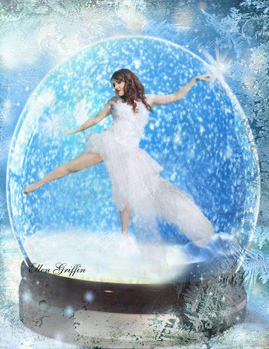 The Dancer - Ellen Griffin Fantasy Art