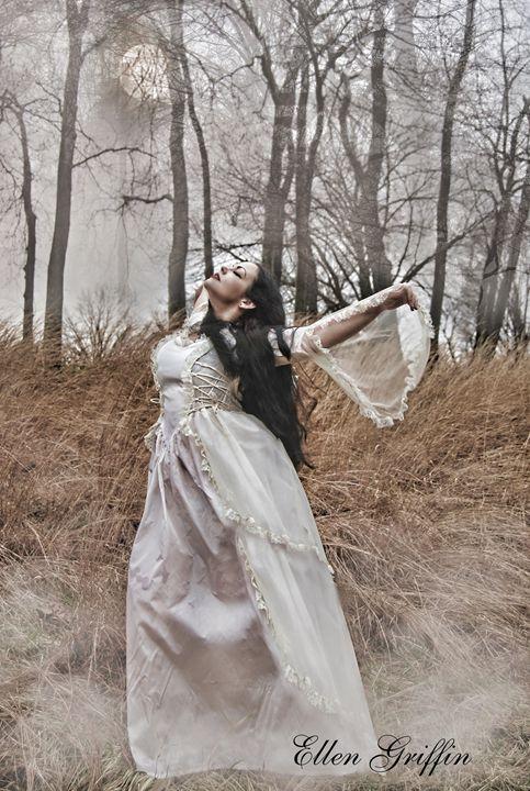 Moonlight Dance - Ellen Griffin Fantasy Art