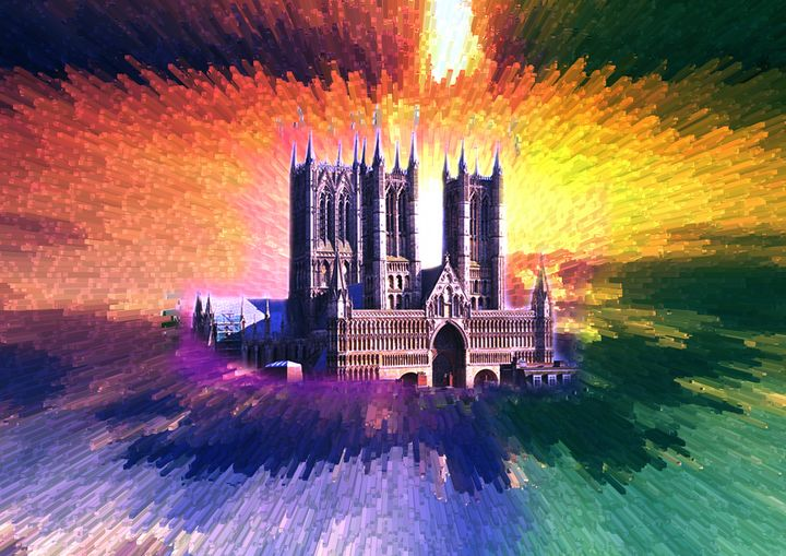 cathedral glow - iconic art