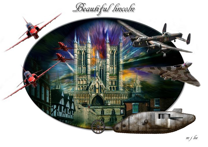 beautiful lincoln - iconic art