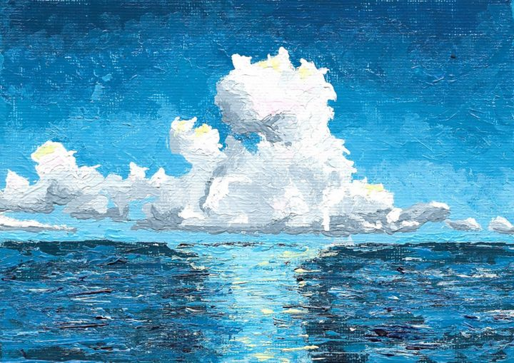 Ocean Clouds - Tim Johnson