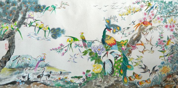 100 Birds - LRB Fine Art
