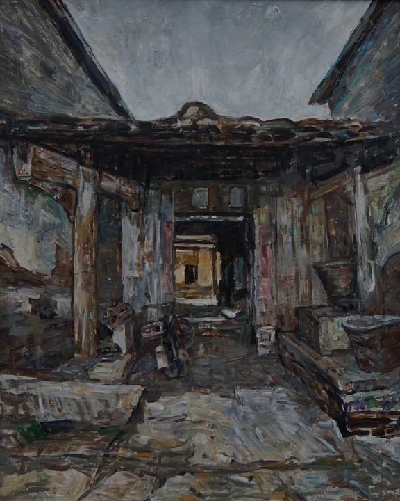 Home Door Entrance - LRB Fine Art