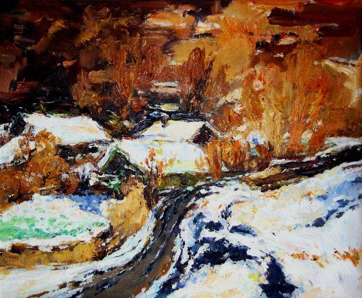 First Snow - LRB Fine Art