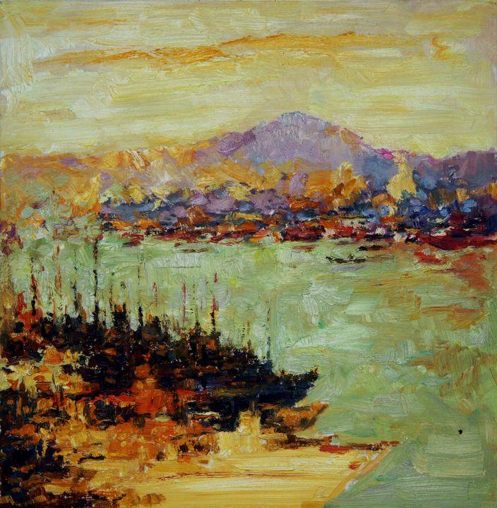 Vladivostok River 1 - LRB Fine Art