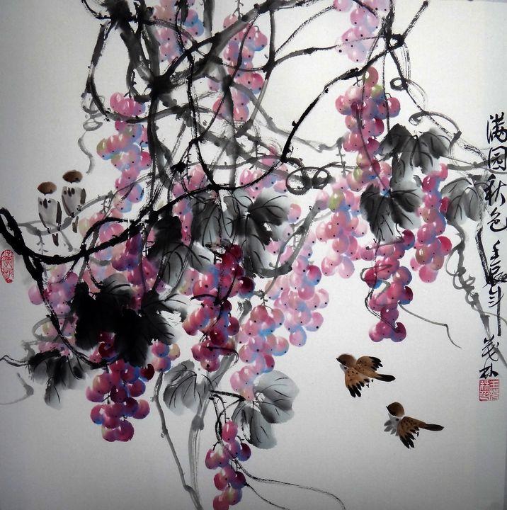 Grapes Work 2 - LRB Fine Art