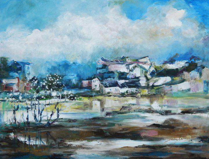 Silent Pond - LRB Fine Art