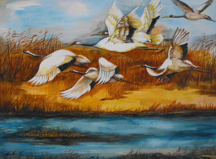 Marsh Flight - LRB Fine Art
