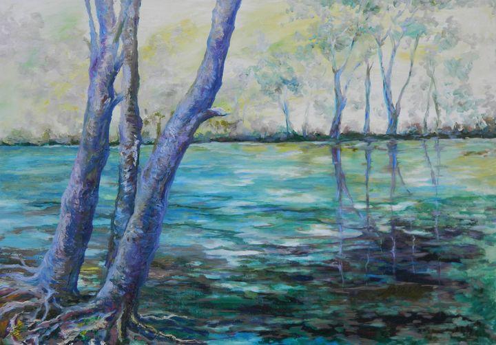River Roots - LRB Fine Art