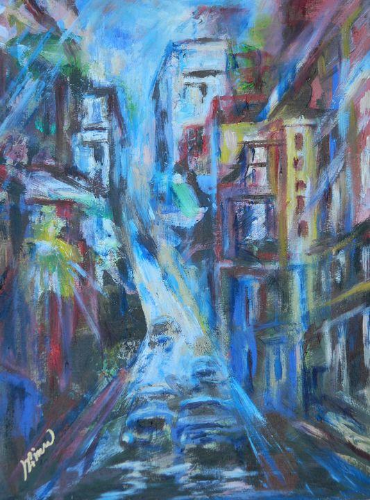 Nightmare Avenue - LRB Fine Art