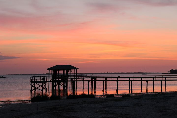 pink sunrise - lowcountryphotos