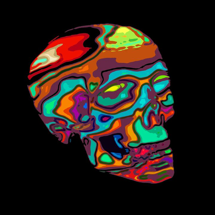 LSD Skull - JOHANNES