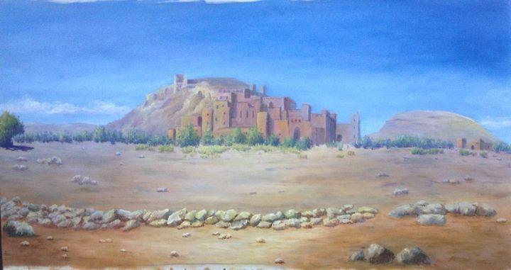 Kasbah of Aït Benhaddou - June Mung