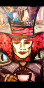 "Mad-""Catter"" Alice in Wonderland"