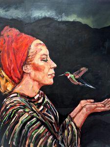 The Kiss of The Giant Hummingbird - Ezshwan