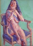 """11"""" x 16"""" oil painting on birtch pan"""