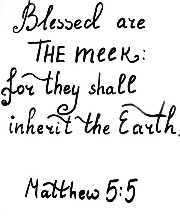 Bible verse about the meek - Bible Verses