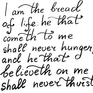 Bible verse about Bread of Life